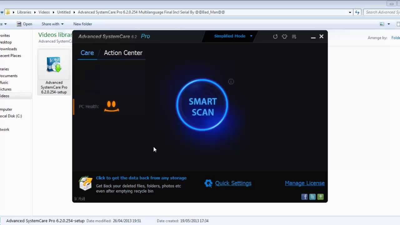 Advanced systemcare 11 activation code