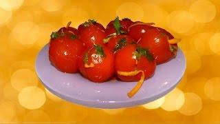 Как приготовить малосольные помидорчики