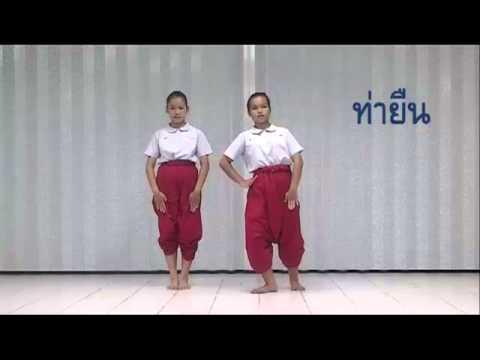 วีดีทัศน์ภาษาท่านาฏศิลป์ไทย