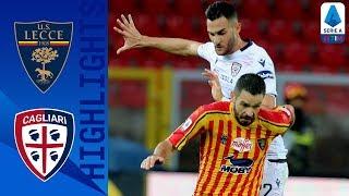Lecce 2-2 Cagliari | Il Lecce rimonta da 0-2 a 2-2 al 91'! | `Serie A