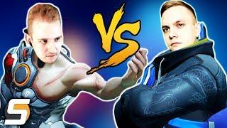 ИРМАН vs SFORY [Overwatch Эпическая Дуэль с Ограничениями]