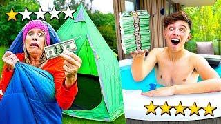 $100 HOLIDAY vs $10,000 HOLIDAY - Challenge Video