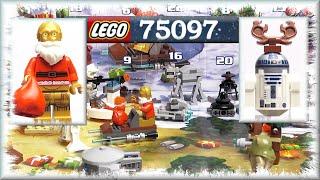Распаковка Лего Звездные войны календарь (75097) - LEGO Star Wars Advent Calendar