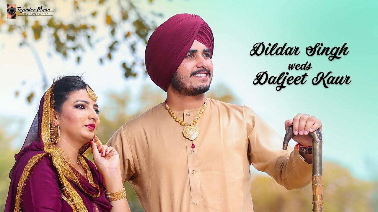 Best Pre Wedding 2018 Dildar Singh Weds Daljeet Kaur Jutti Kasuri Tejinder Mann