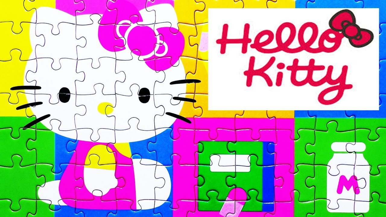 Uncategorized Games Puzzle Hello Kitty hello kitty ravensburger puzzle games jigsaw puzzles de play kids toys quebra
