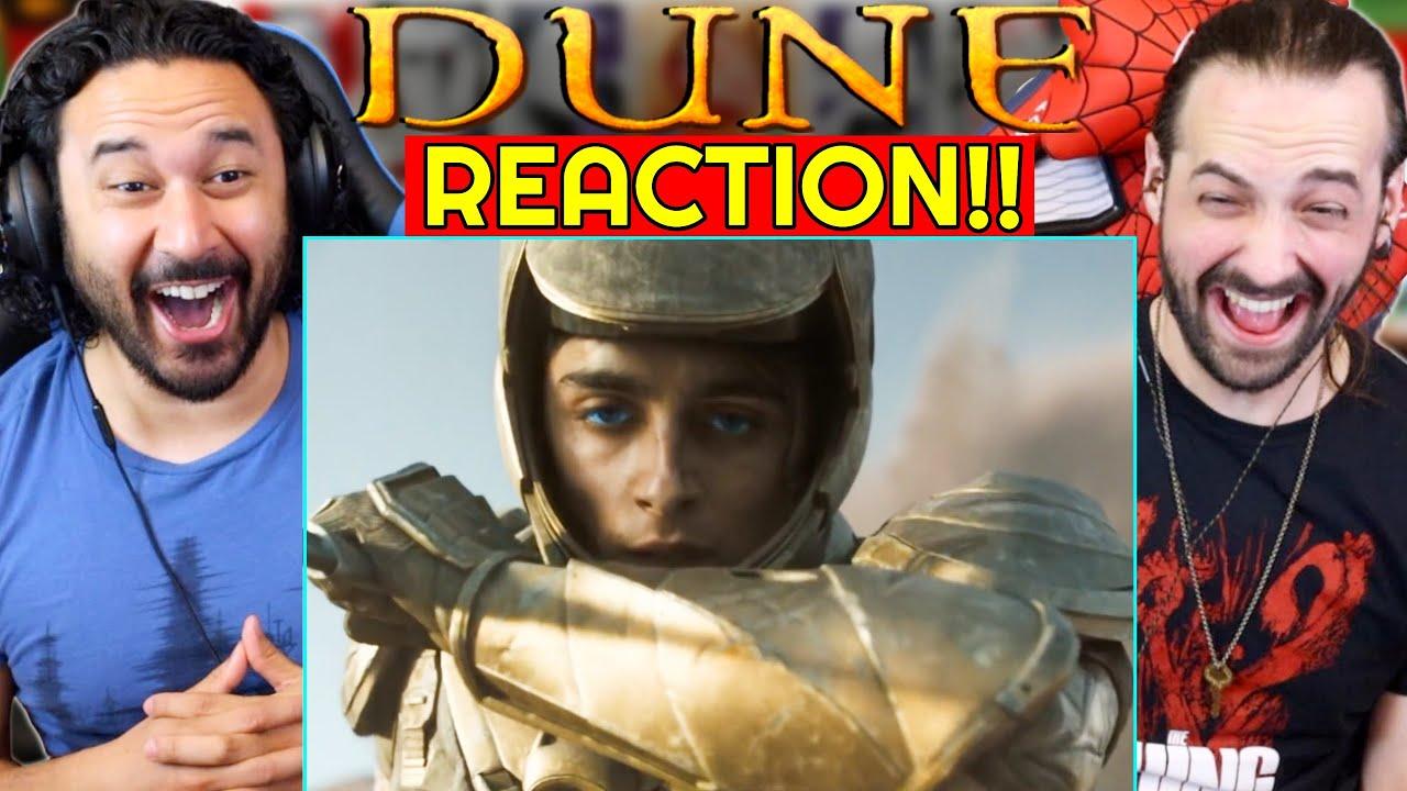 Download DUNE - MAIN TRAILER REACTION!! (Official Trailer #2)