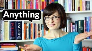 Anything - wszystko albo nic? | Po Cudzemu #16
