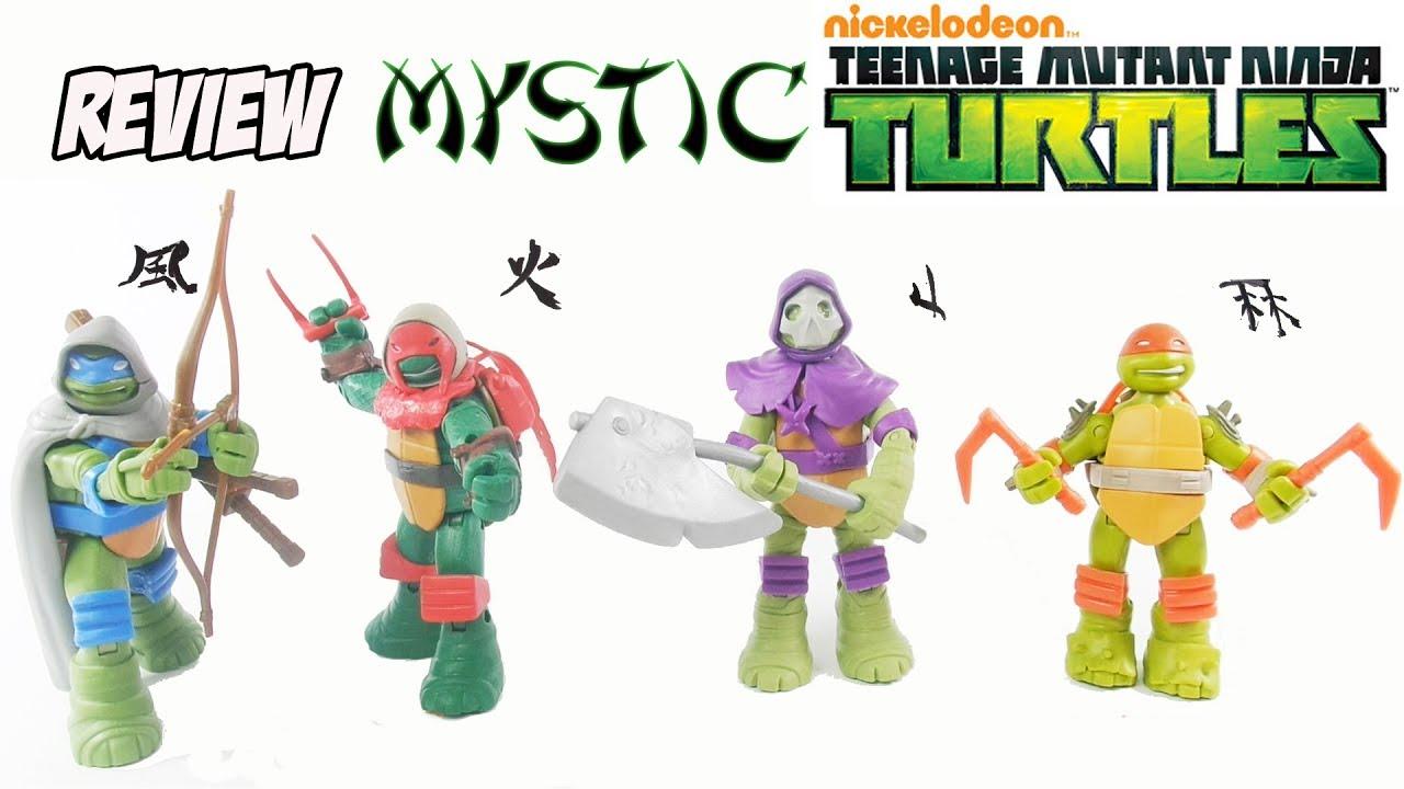 Review Colecao Tartarugas Ninja Mystic Vision Quest Serie 12