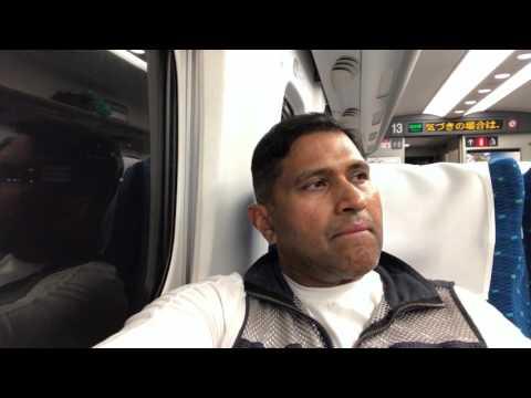 Shinkansen Nozomi Super Express to Hiroshima