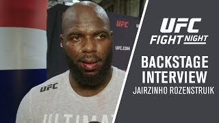 "UFC Washington DC: Jairzinho Rozenstruik - ""From here, I want to fight Francis Ngannou"""
