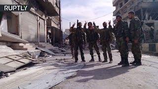 Сирийская армия очистила от боевиков город Сакбу в Восточной Гуте
