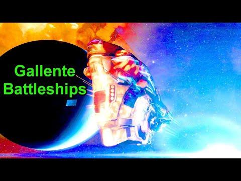 Gallente Battleships And Glamourex Stats - !giveaway - EVE Online Live