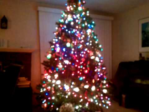 My Christmas Tree... Bubble Lights & All! - My Christmas Tree... Bubble Lights & All! - YouTube