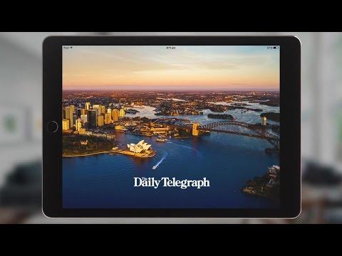 Daily Telegraph 60sec App Ad