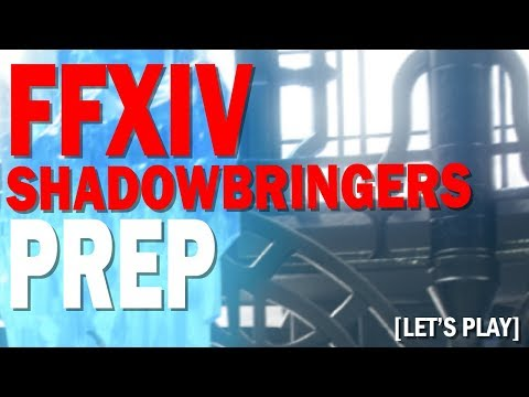 FFXIV Shadowbringers Crafting & Gathering Prep | Let's Chat and Chill