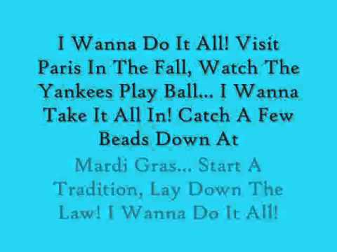 Terri ClarkI Wanna Do It All (Lyrics)