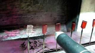 видео Электростатика или трибостатика для порошковой окраски.