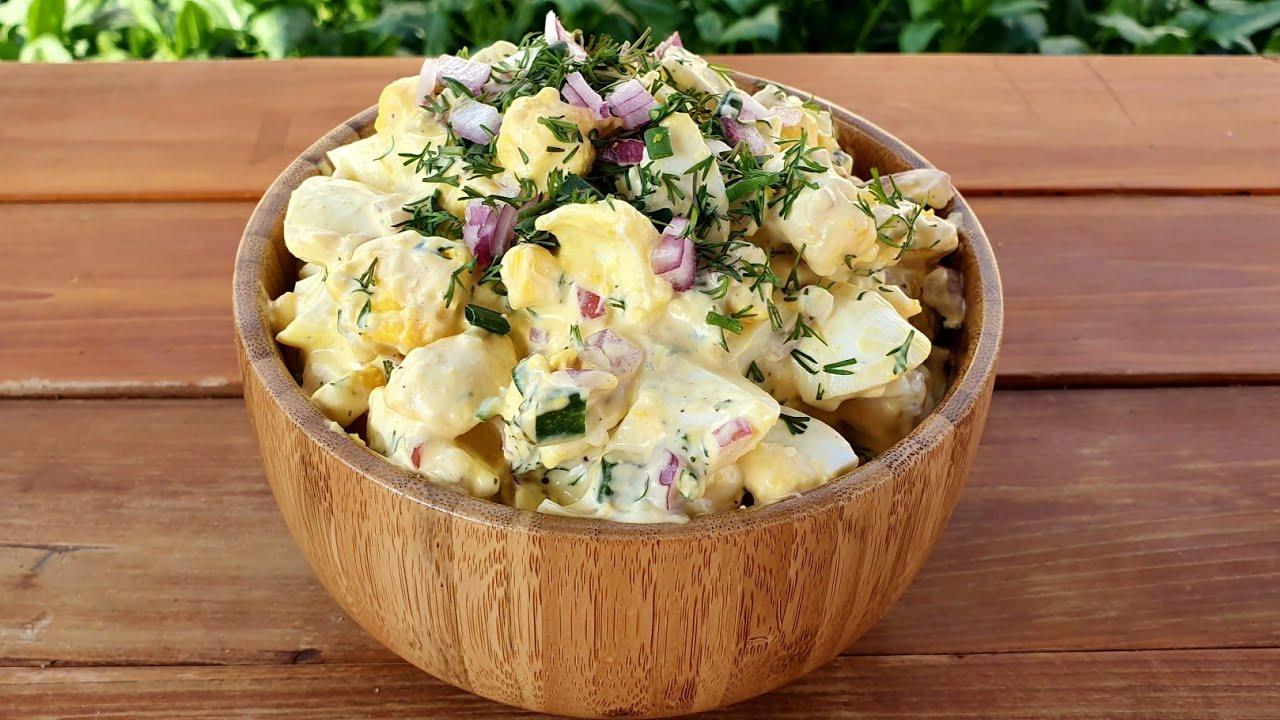 ✅ Tereyağlı Yumurta Salatası Nasıl Yapılır ✅ Yeşil soğanlı yoğurtlu yumurta salatası tarifi