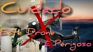 Primeiro Voo Drone FQ777 F8 Monster - Não Compre este Drone