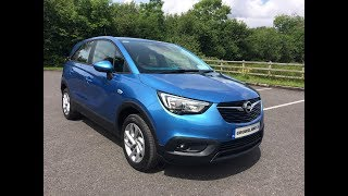Review & Test Drive: 2017 Opel Crossland X SC