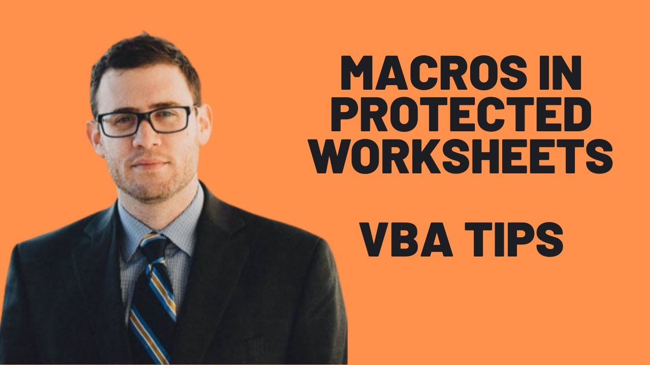 How To Run Macros In Protected Worksheets Excel VBA Tips YouTube – Worksheets Vba