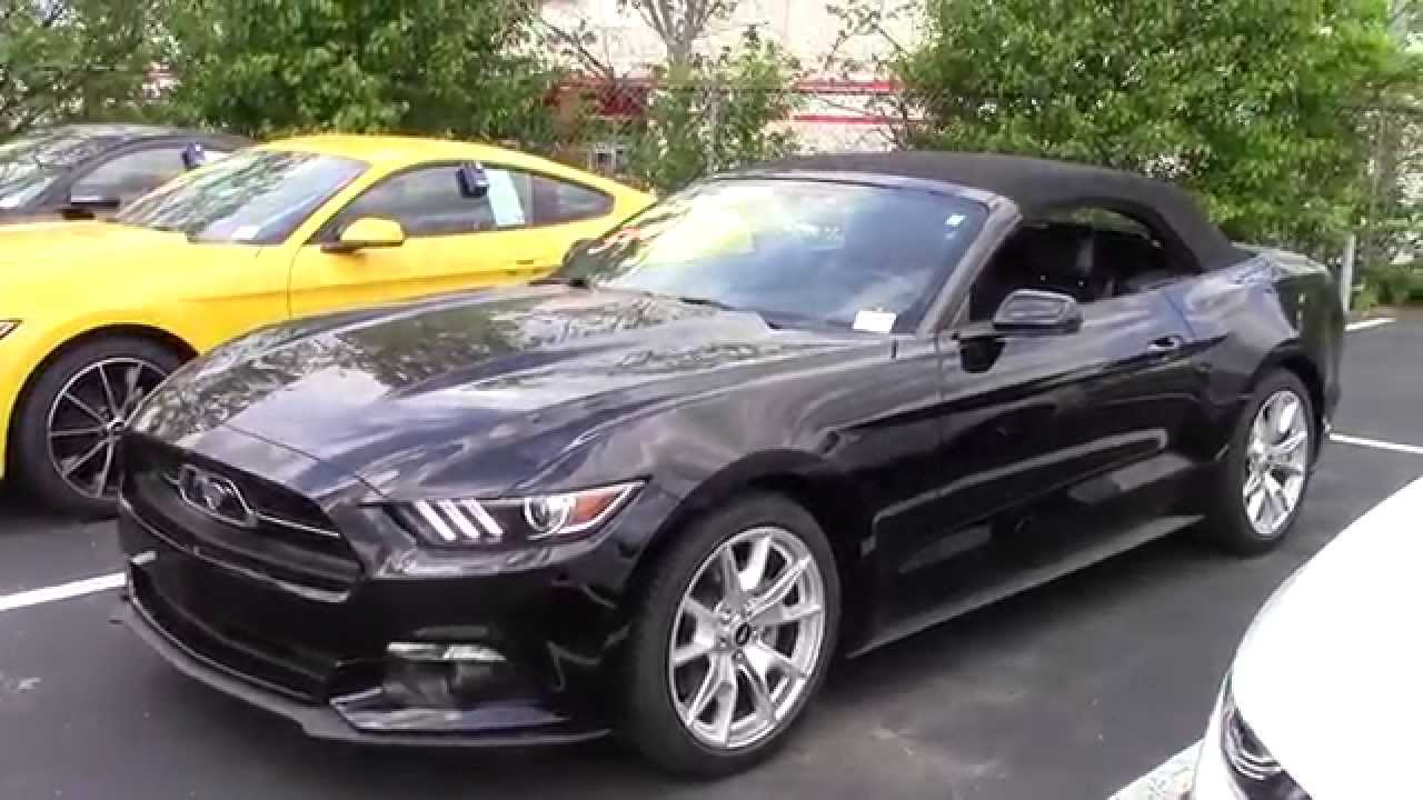 2015 50th anniversary mustang gt convertible dylan calkins marshal mize ford - 2015 Ford Mustang Gt Convertible Black