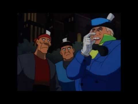 Batman villains controlling people to jump in water