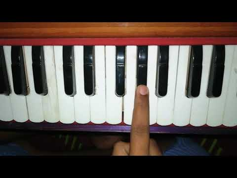 How To Play Zaboor 9 On Harmonium By Justin Morris