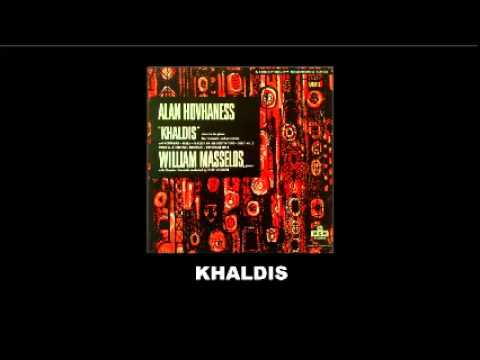 Alan Hovhaness Khladis concerto for piano, four trumpets and percussion