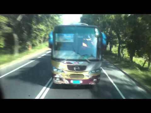 Sarkar travels overtaking nabil scania :)