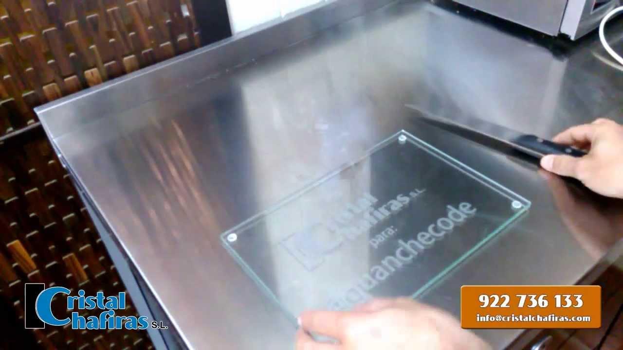 As se manipula el cristal ejemplo pr ctico con tabla de - El practico de cocina ...