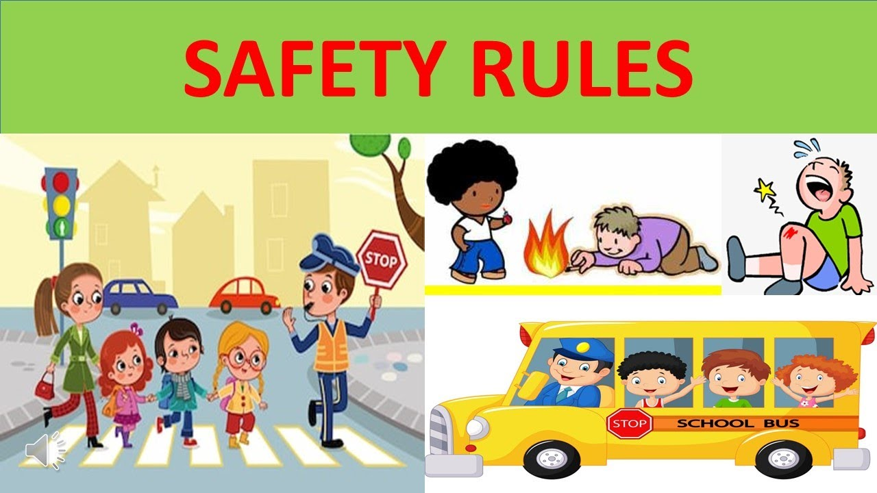 SAFETY RULES FOR KIDS || EDUCATIONAL VIDEO FOR CHILDREN