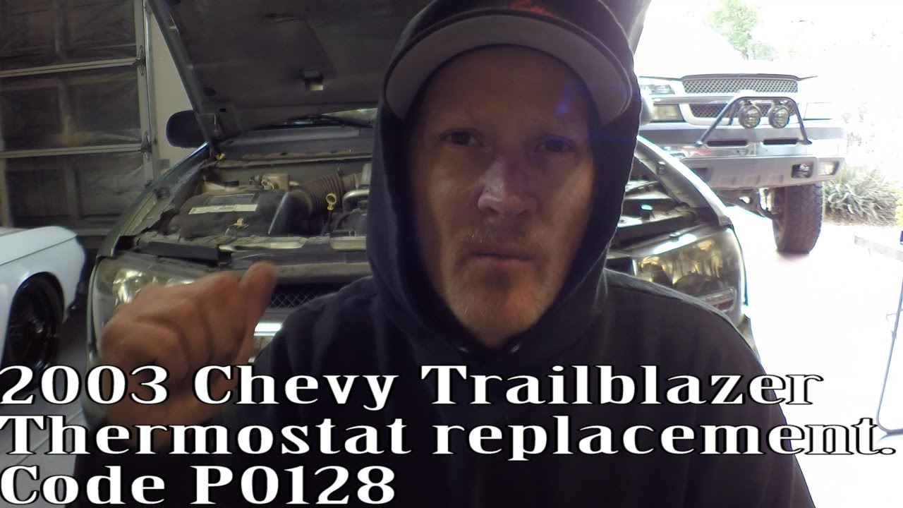 small resolution of 2003 chevy trailblazer p0128 thermostat replacement the easy way