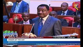 County funds reprieve : Kenyatta signs revenue bill into law