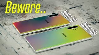 Why the Galaxy Note 10 isn't Worth it!