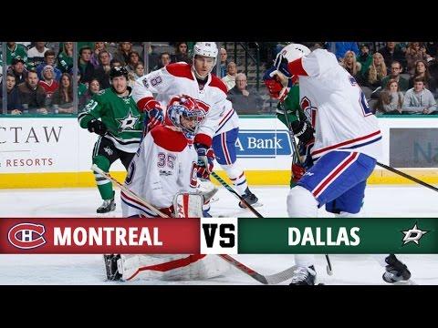 Montreal Canadiens vs Dallas Stars   Season Game 39   Highlights (4/1/17)