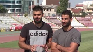 Reportaj cu fratii Esteki (Dinamo Bucuresti)