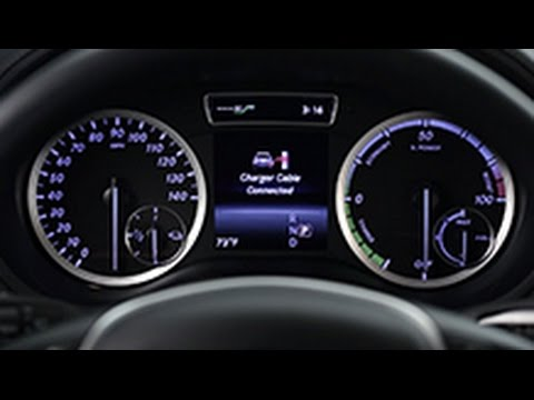 B-Class Electric Drive: Charging -- Mercedes-Benz