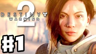 Destiny 2: Warmind - Gameplay Walkthrough Part 1 - Mars and Ana Bray! (PS4 Pro 4K)