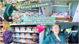 10.000 Euro für Garteneinrichtung 😱 | Live Haul im Baumarkt & Kinderzimmer | Isabeau