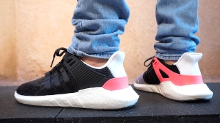 adidas eqt support 93 17 up close on foot review