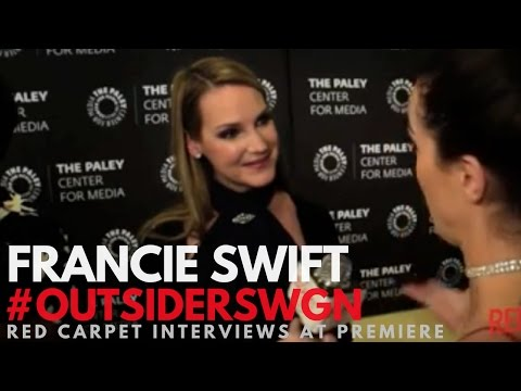 Francie Swift ed at WGN's Outsider S2 Premiere at PaleyLive LA OutsidersWGN