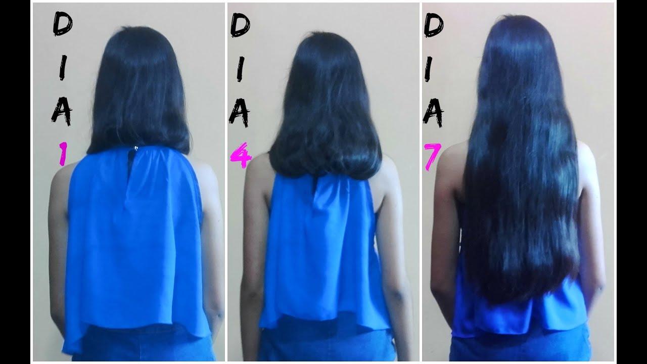 como te crece el cabello en una semana