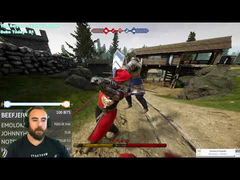 Mordhau - Bloodlust Tank 30-Kill Slaughter - Mordhau Beginner Frontline Gameplay