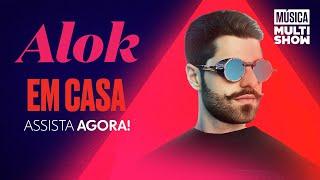 Live Alok Em Casa No Multishow