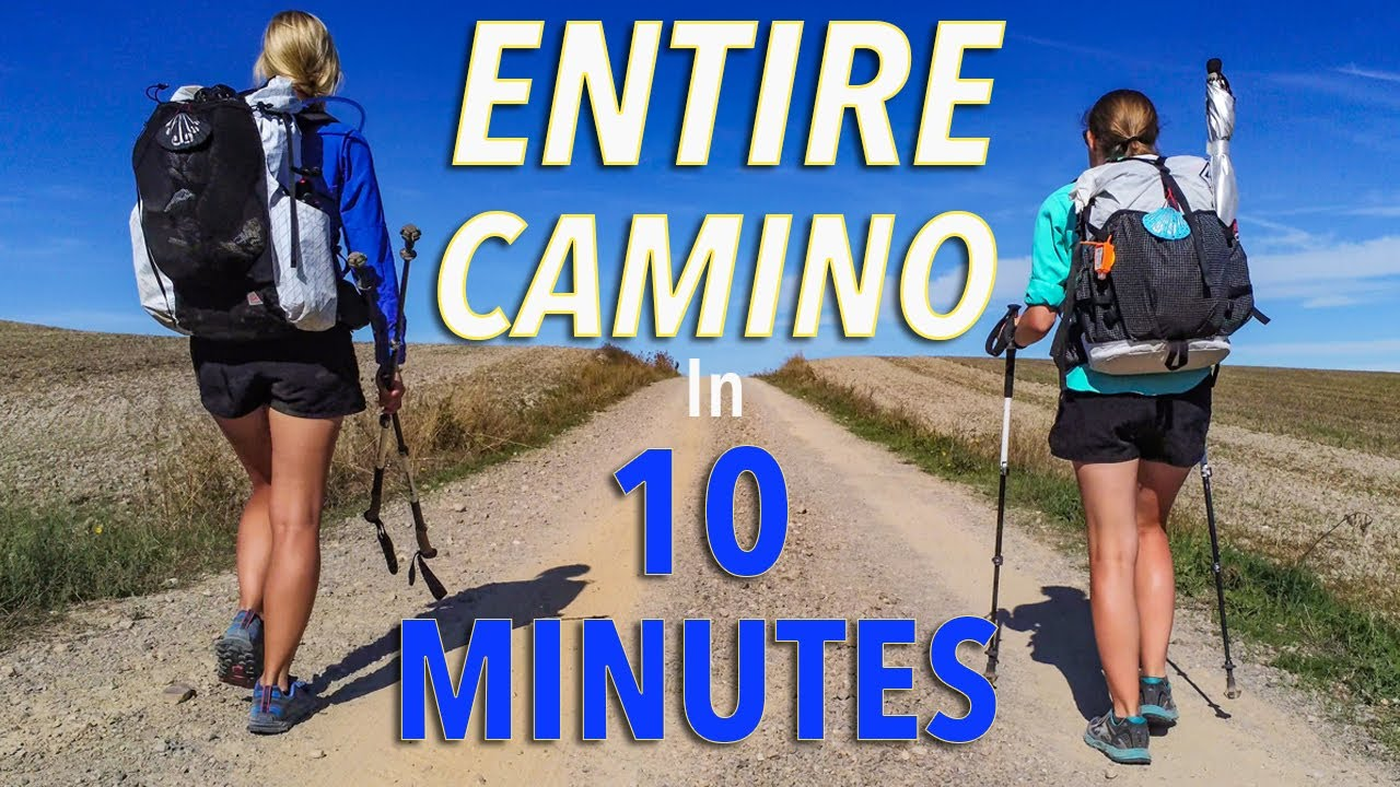 The Entire Camino In 10 Minutes