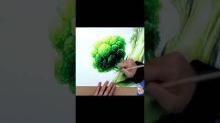 브로콜리 그리기 / Broccoli drawing
