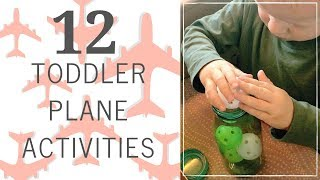12 Toddler Plane Activities | How to Entertain a Child on a Flight