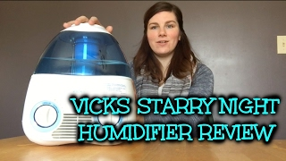 Vicks Starry Night Cool Mist Humidifier Review