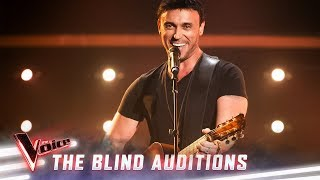 The Blind Auditions: Nathan Foley sings 'Footloose' | The Voice Australia 2019